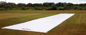 Flat wicket cover