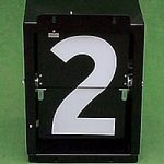 Mechanical Scoreboard Numbers Inc Box