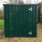 Powder coated green 2m